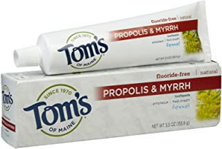 Tom's of Maine Antiplaque with Propolis & Myrrh Paste - 5.5 oz - Fennel
