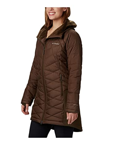 Columbia Heavenly Long Hybrid Jacket (Olive Green) Women