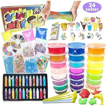 Elmer/'s Konfetti Schleim Set Verschiedene Farben für Kinder und Teens Weltweit