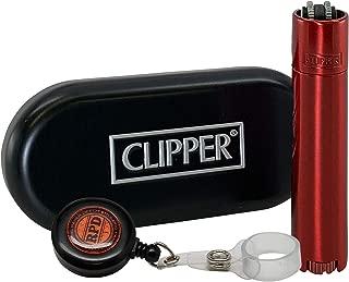 Clipper Full Metal Red Devil Lighter with RPD Lighter Lasso