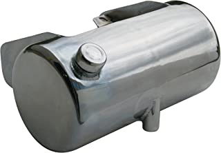 3.5 Qt. Round Oil Tank for '84-'99 Softail¨ or Rigid Frames, Side Fill, Chrome Plated