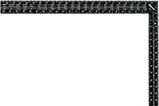 Starrett RS-24 Steel L-Shaped Rafter/Framing Square, 24