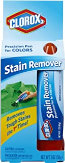 Clorox 2 Laundry Stain Remover Precision Pen for Colors, 1 Pen (Pack of 3)