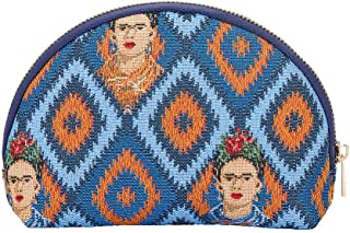 Signare Tapestry cosmetic bag makeup bag for Women with Frida Kahlo Design