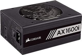 CORSAIR AXi Series, AX1600i, 1600 Watt, 80+ Titanium Certified, Fully Modular - Digital Power Supply