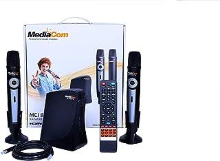 MediaCom 8200TW MCI Karaoke Player - Black (Pack of 1)