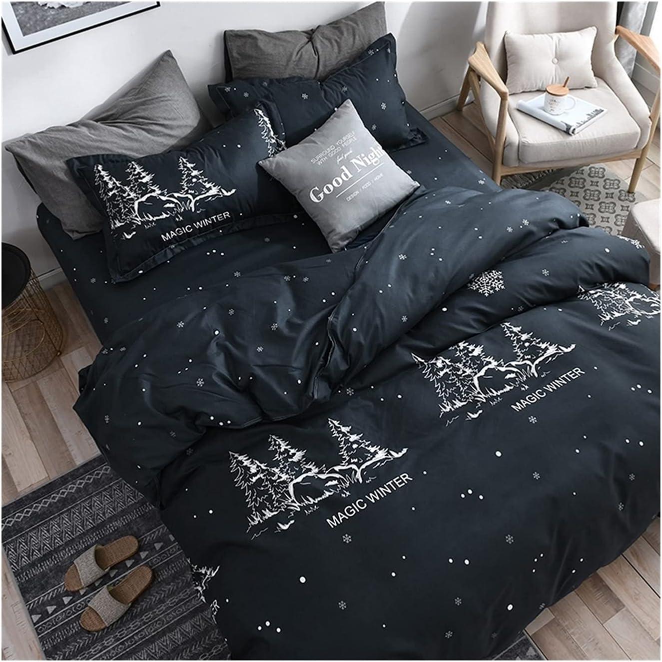 LSDJ QMDSH Home Max 49% OFF Textile Girl Bedding Overseas parallel import regular item Set Cover Peach Pink Duvet