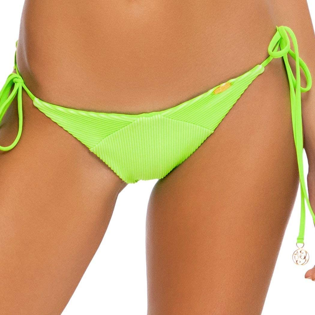 LULI Babe in Miami - Wavey Ruched Back Tie Side Bottom-EJC