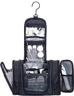 WANDF Expandable Toiletry Bag Dopp Kit TSA Approved Bottles