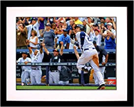 Steiner Sports Memorabilia JETER3K8FS Unsigned MLB New York Yankees Derek Jeter 3,000Th Hit 'Look' 8x10 Framed Photo, Multicolor