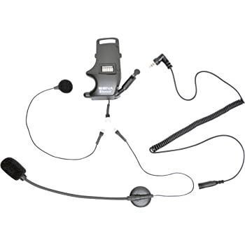 Sena SMH-A0304 Helmet Clamp Kit for Earbuds with Boom and Wired Microphones for SMH10 Bluetooth Headset