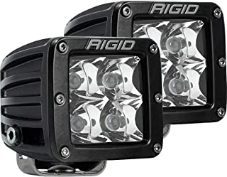 "Rigid Industries 202213 LED Light (D-Series Pro, 3"", Spot Beam, Pair, Universal), 2 Pack"