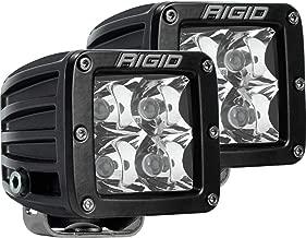 Rigid Industries 202213 LED Light (D-Series Pro, 3 Inch, Spot Beam, Pair, Universal), 2 Pack