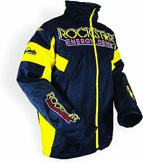 HMK Men's 'ROCKSTAR' Superior TR Jacket (Yellow, Medium)