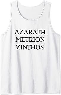 Azarath Metrion Zinthos Anime Comics Super Heroes Tank Top