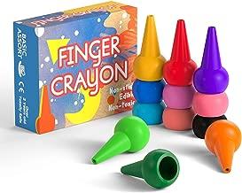 Gibot Lápices de Colores para niños, Agarre de Palma de la Mano, Surtido de 12 Colores, apilables y Apto para niños pequeños, Producto Seguro y no tóxico.