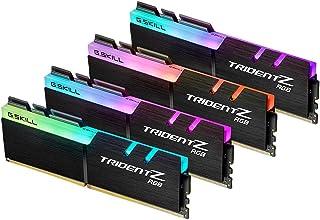 G.SKILL 128GB(4x32GB) TridentZ RGB DDR4 3600 (PC4-28800) 288-Pin Intel XMP 2.0 Desktop Memory Model F4-3600C18Q-128GTZR