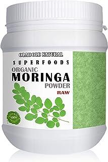 Oladole Natural Raw Organic Moringa Leaf Powder 8.5 Oz (240 G) USDA Certified, Non-GMO Project Verified, Vegan and Gluten-...