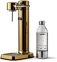 Machine à eau pétillante Aarke Carbonator 3 avec boîtier en acie finition Or r inoxydable et bouteille en PET de qualité s...