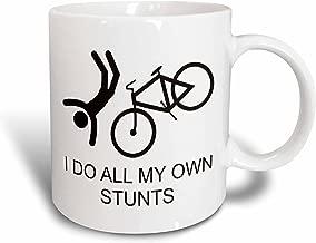 3dRose mug_193260_1 I Do All My Own Stunts Ceramic Mug, 11-Ounce