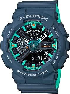 Casio Analog-Digital Black Dial Men's Watch-GA-110CC-2ADR (G915)