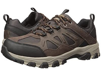 SKECHERS Relaxed Fit Selmen Enago (Chocolate) Men