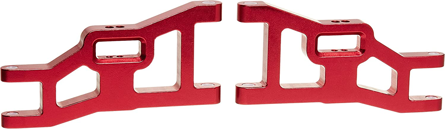 ST Racing Concepts ST3631R Aluminium Front Arms for Stampede, Rustler and Slash (Red)