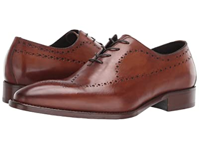 J&M Collection Reece Wing Tip (Tan) Men