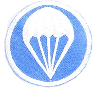 U.S. WWII Garrison Cap Badge Patch- Paratrooper Infantry