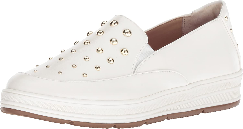 Adrienne Vittadini Womens goldie Sneaker