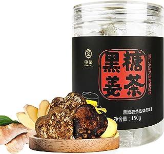 中茶 中粮集团 黑糖姜茶 红糖块 生姜糖茶 速溶姜汁 姜母茶 150克
