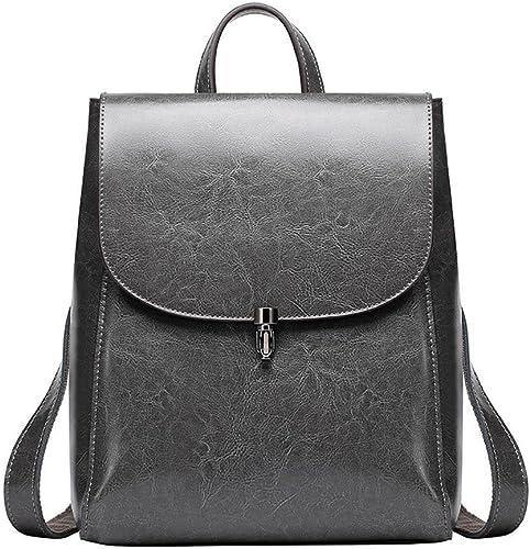 Axiba Lady Rucksack Lederhandtasche High-End-Qualität Doppel Schultertasche Rucksack Reisen Rucksack