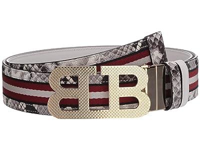 Bally Mirror B 40 M.TSP Belt (Black) Men