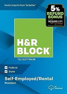 h&r block self file