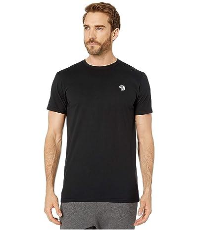 Mountain Hardwear Hardweartm Logo Short Sleeve Tee (Black) Men