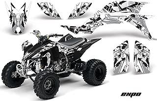 Yamaha YFZ 450 2004-2013 ATV All Terrain Vehicle AMR Racing Graphic Kit Decal EXPO SILVER