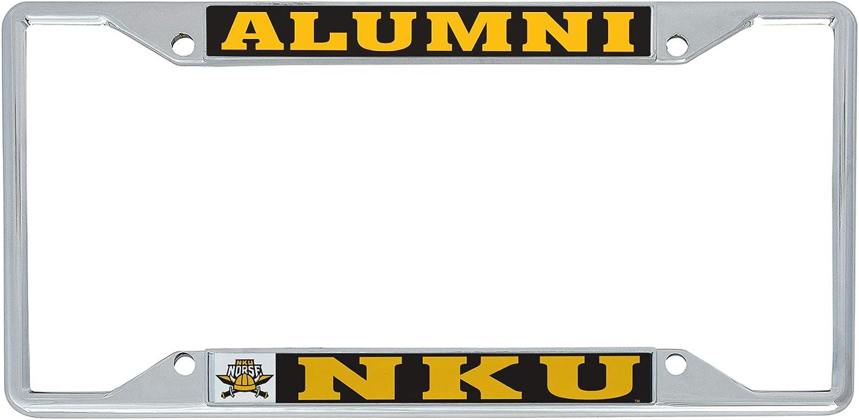 Northern Kentucky University Norse NKU License Metal Viking Max 71% OFF overseas Plat