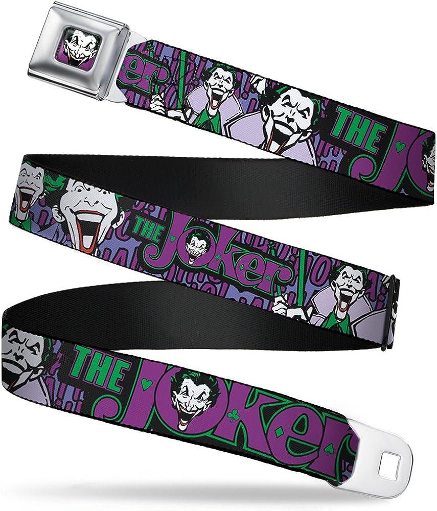 Buckle-Down Boys Seatbelt Belt Joker Wjk002