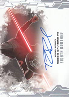 2017 Topps Star Wars Masterwork Autograph Insert Card #MAB-RD Robbie Daymond Eighth Brother Auto