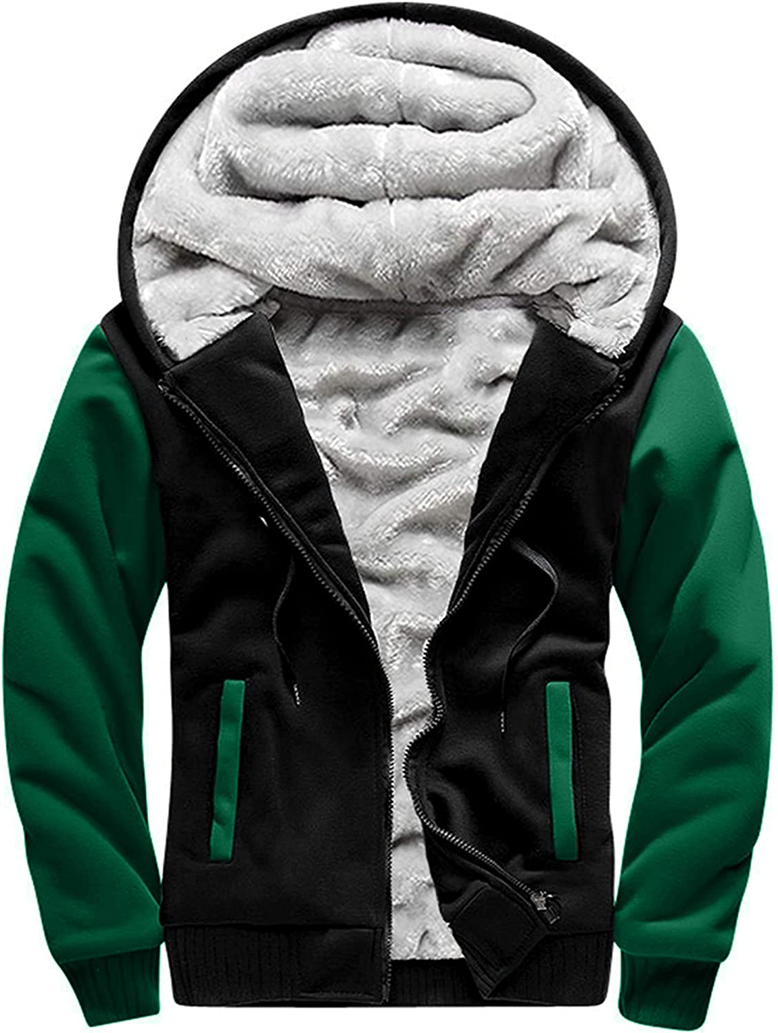 MACHLAB Superior Men's Pullover Winter Workout Hoodie Jackets Colorado Springs Mall Fleece Full