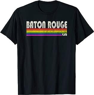 Vintage 80's Style Baton Rouge LA Gay Pride Month T-Shirt