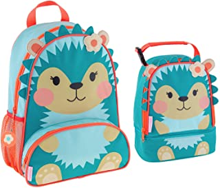 Stephen Joseph Sidekick Hedgehog Backpack and Lunch Pal