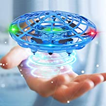 Mini Drone Flying Toy Hand Operated Drones for Kids or Adults - Scoot Hands Free UFO  Helicopter, Easy Indoor Outdoor Flying Ball Drone Toys for Boys Girls