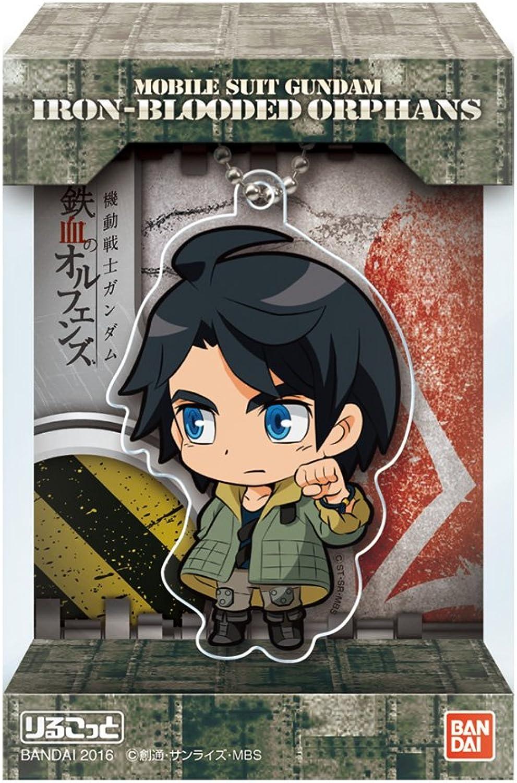 Orufenzu 10 pcs Candy Toys & gum Rirukotto Blood and iron (Mobile Suit Gundam)