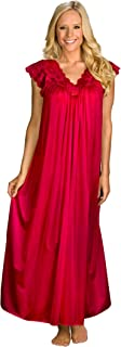 Women's Silhouette 53 Inch Short Cap Sleeve Long Gown