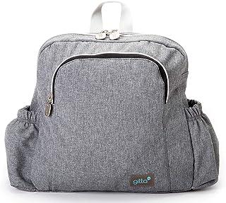 Gitta Mini Ideal Kids School Bag Child Infant Preschool Backpack, Gray Denim