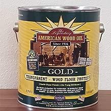 Waterlox American Wood Oil Tungöl transparent farblos Holzlasur innen 0,95L für ca 15m² I hochwertiges Holzöl fleckenunempfindlich I Bestes Möbelöl Parkett Öl Holzversiegelung Alt zu Holzwachs