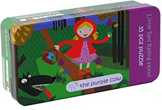The Purple Cow Fairy Tale Little Red Riding Hood Jigsaw Puzzle - Toys for Fun and Enjoy - Girls Puzzle