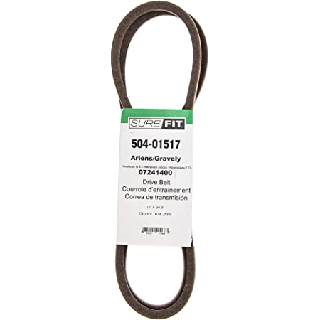 SureFit Deck Belt for 07200037 Ariens Gravely Zoom ZT 915074 915075 915317