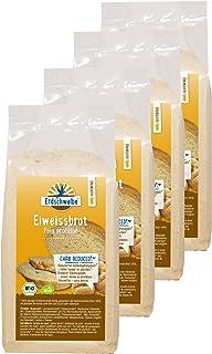 Erdschwalbe Bio Eiweiß Brot Backmischung - glutenfrei - 4er Pack 4 x 250g